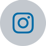 Follow us on Instagram icon over