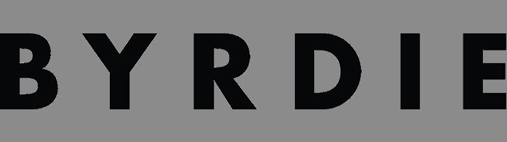 Byrdie logo for carousel images.
