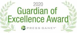 2020 Guardian of Excellence Award® winner by Press Ganey